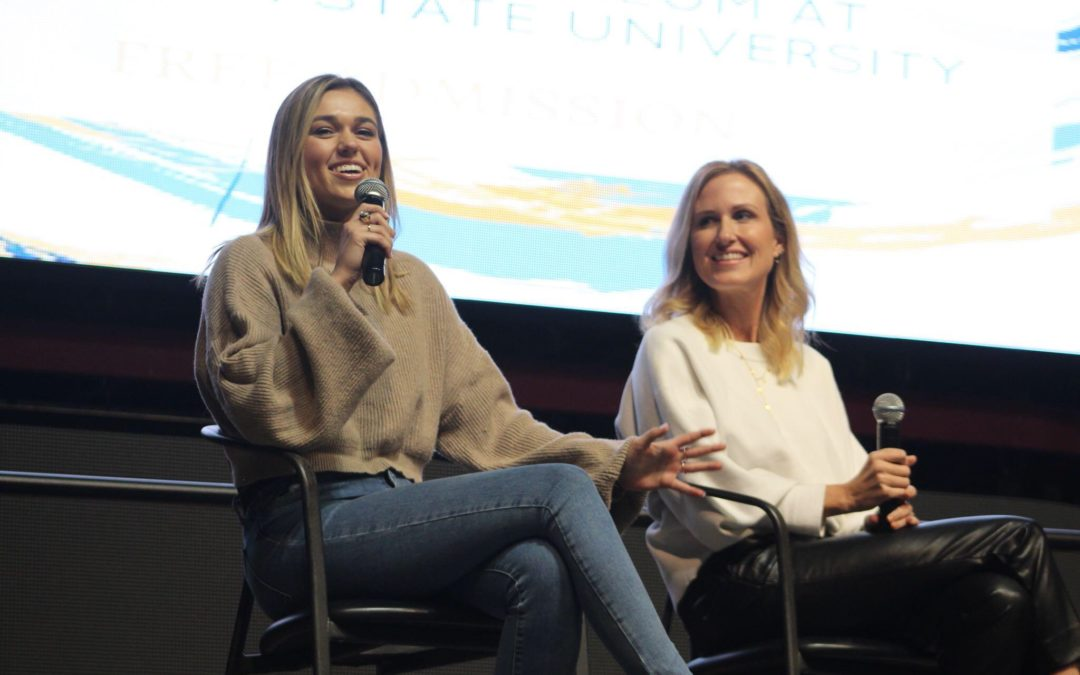 PB Speakers Sadie and Korie Robertson of 'Duck Dynasty' Talk Ethics at MSU